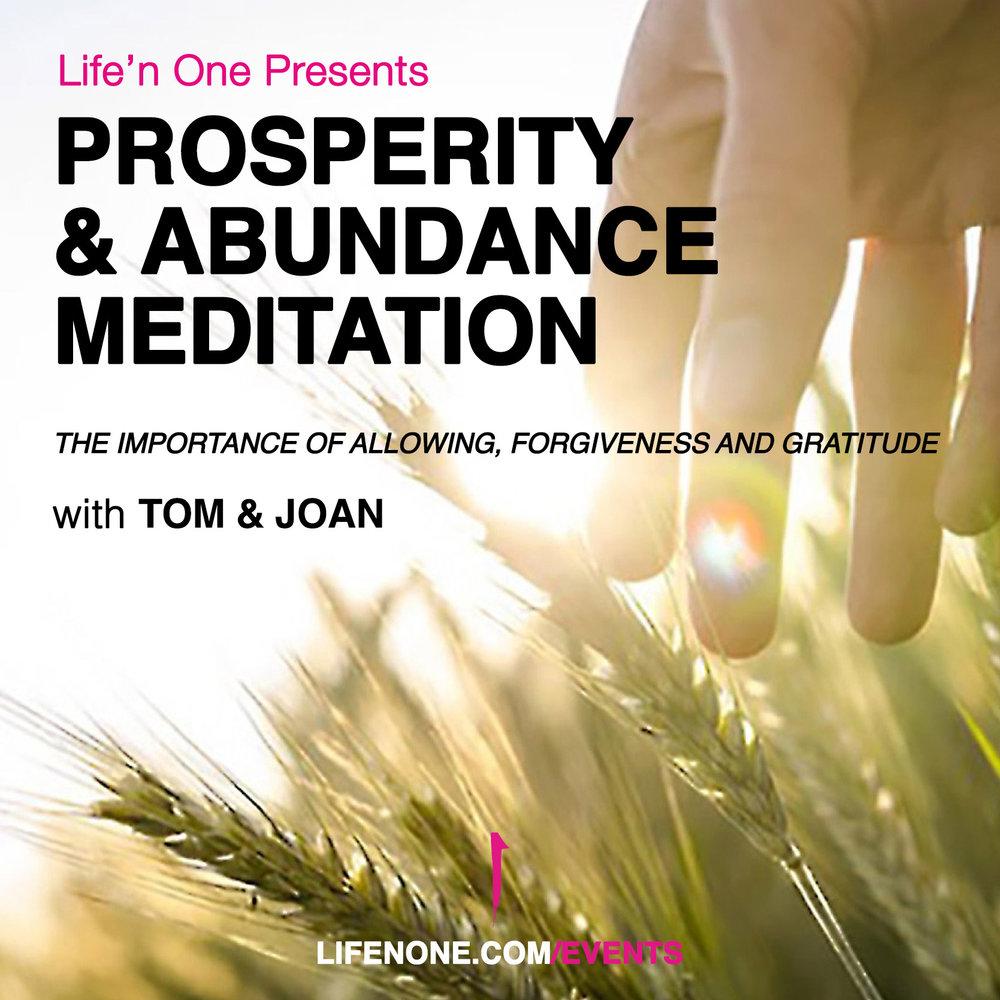 Prosperity & Abundance Meditation