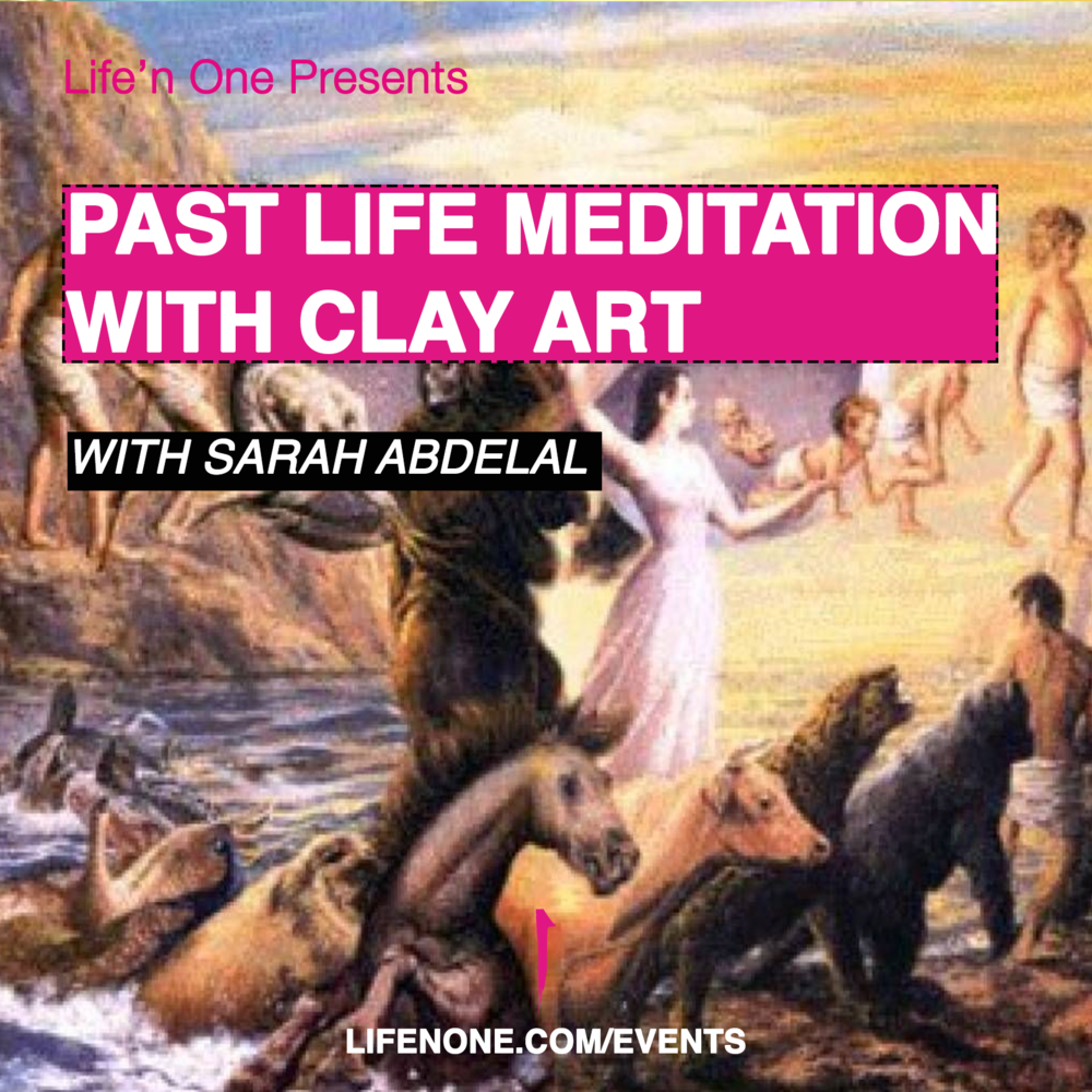 Past Life Meditation with Clay Art