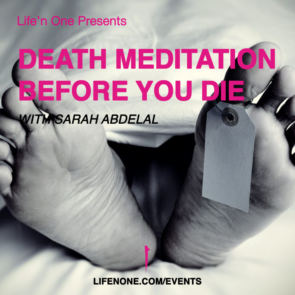 Death Meditation before You Die