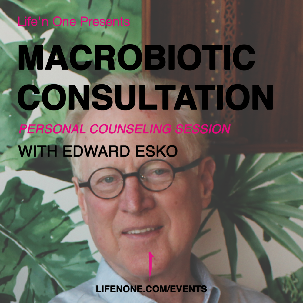 macrobiotic consultation edward esko