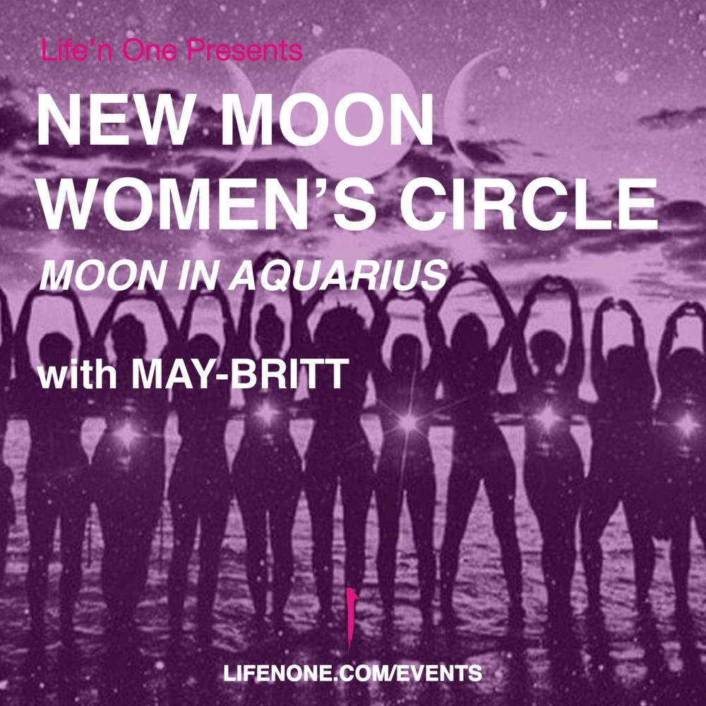 new moon women's circle