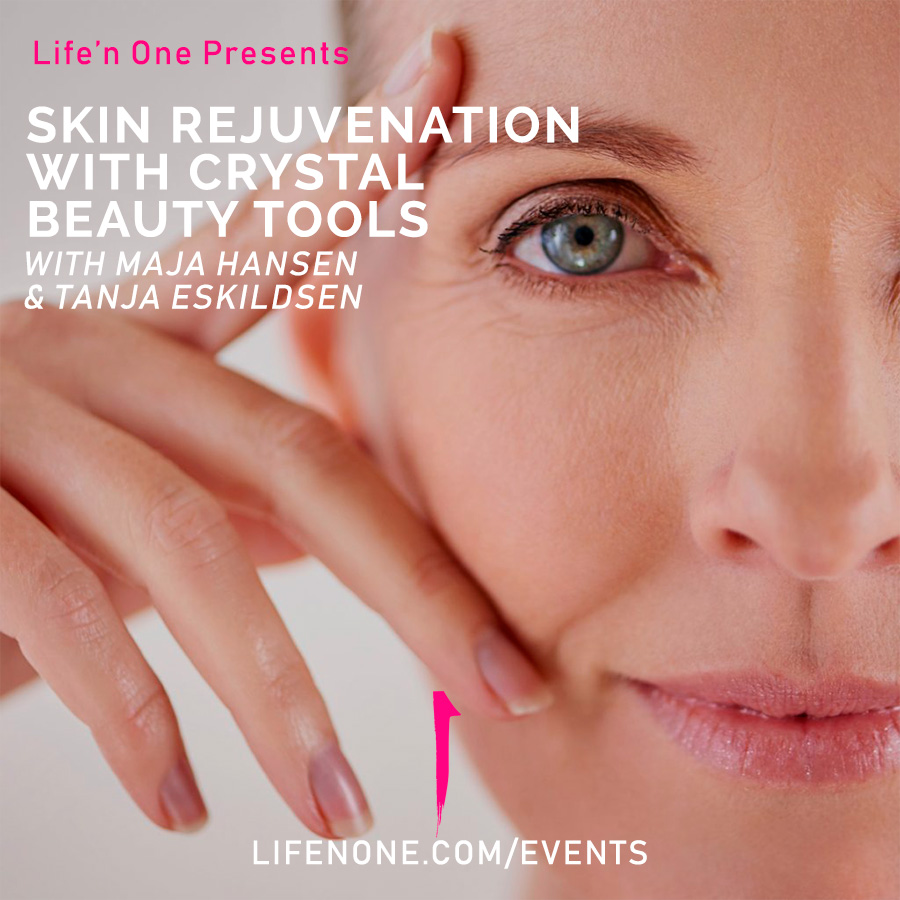 Skin rejuvenation with crystal beauty tools