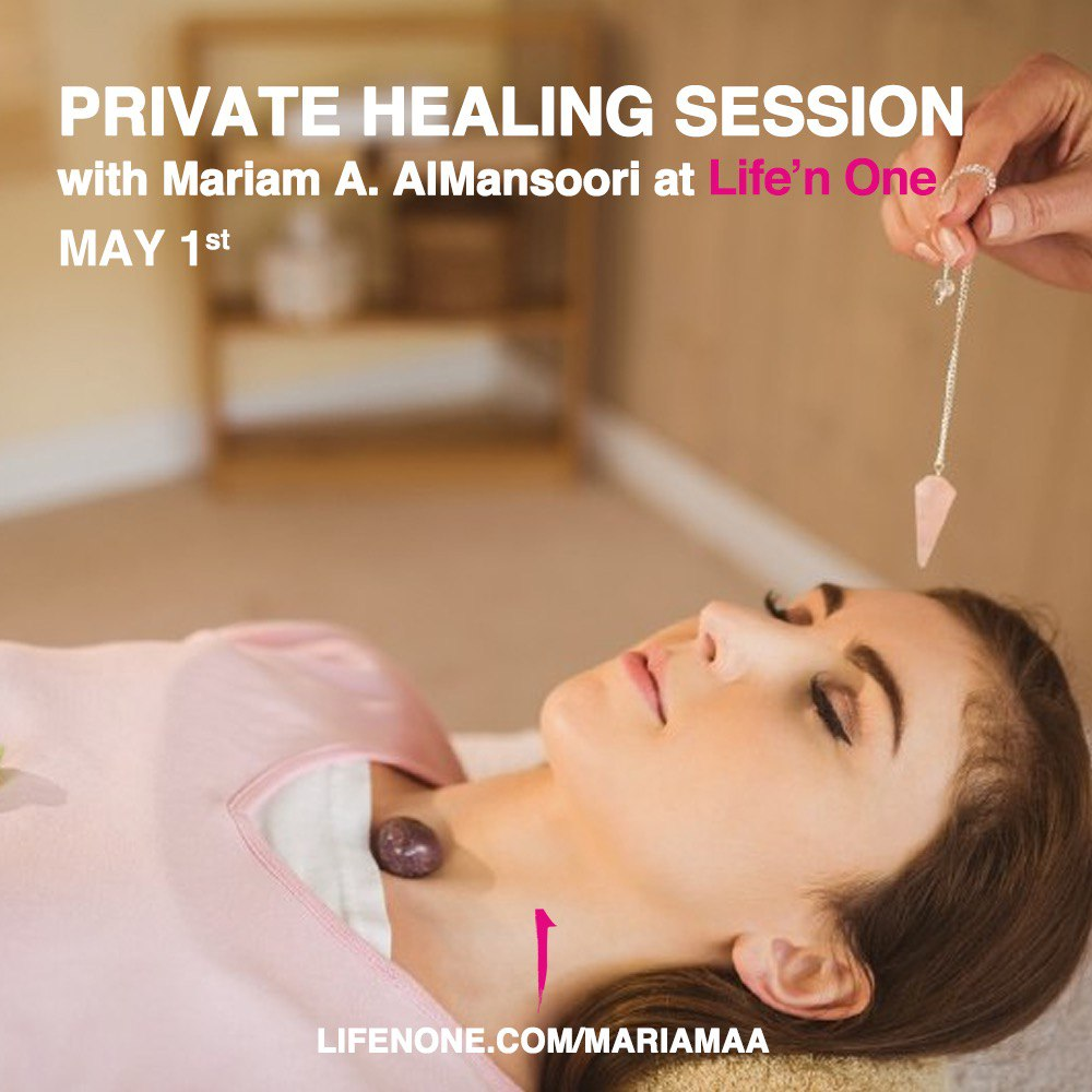 Private Healing Session with Mariam.