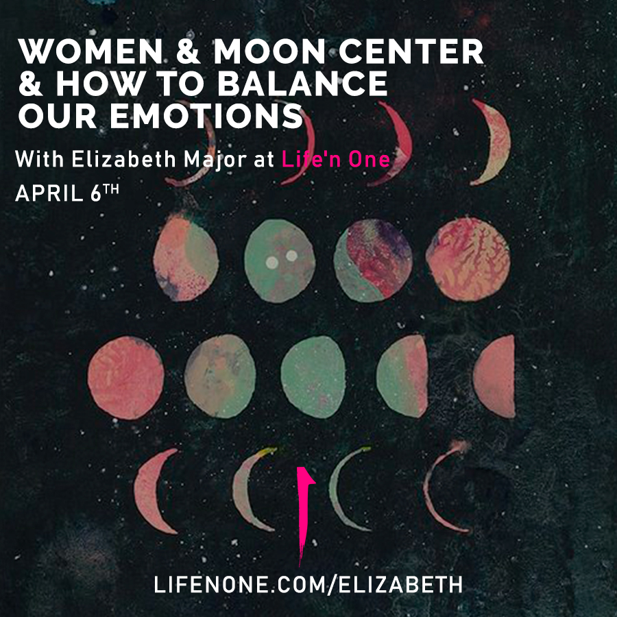 Women & Moon Center & How to Balance Our Emotions