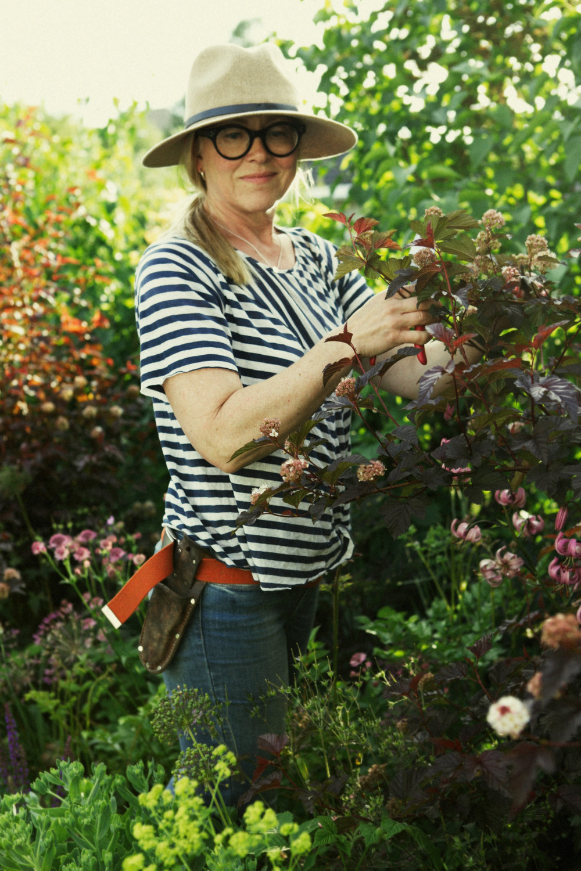 Renée Halvorsen, gartner og hagedesigner.