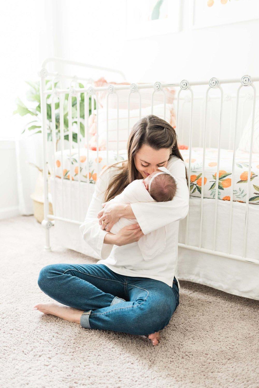 Baby Girls & Oranges Columbia, SC Newborn Session_Markie Walden Photography-17.jpg