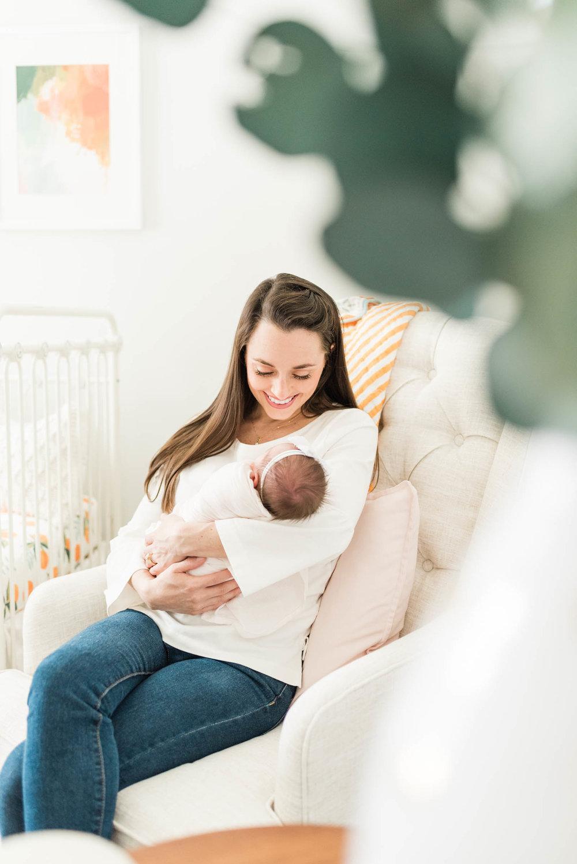 Baby Girls & Oranges Columbia, SC Newborn Session_Markie Walden Photography-19.jpg