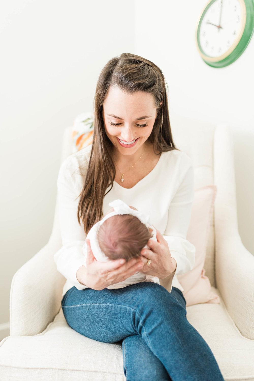 Baby Girls & Oranges Columbia, SC Newborn Session_Markie Walden Photography-20.jpg