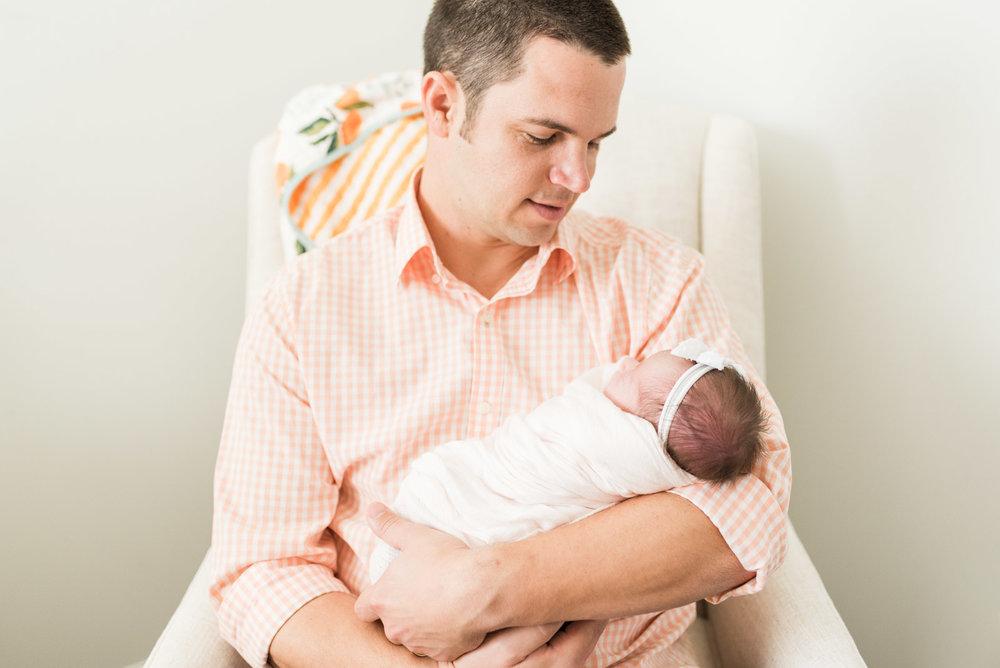 Baby Girls & Oranges Columbia, SC Newborn Session_Markie Walden Photography-23.jpg