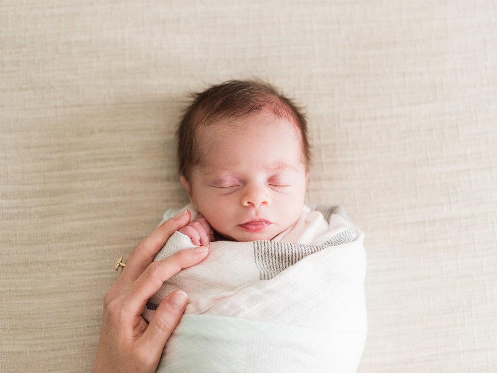 Baby Girls & Oranges Columbia, SC Newborn Session_Markie Walden Photography-36.jpg