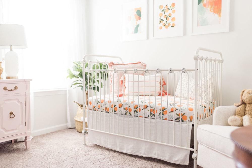 Baby Girls & Oranges Columbia, SC Newborn Session_Markie Walden Photography-39.jpg