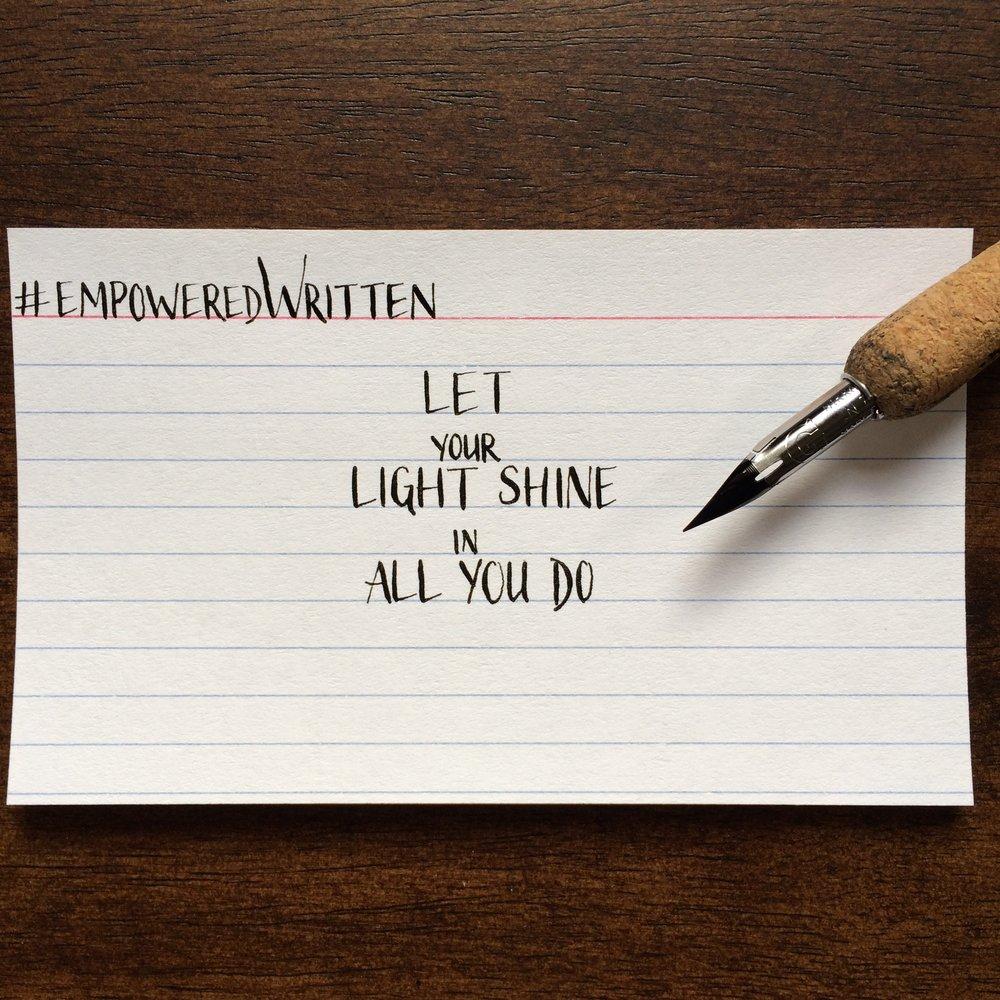 Written Paper Goods - Lindsay MacDougall empoweredWritten