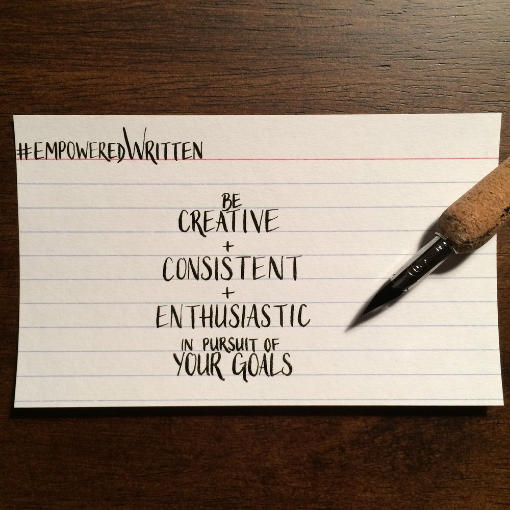 Written Paper Goods - Cate Fricke empoweredWritten