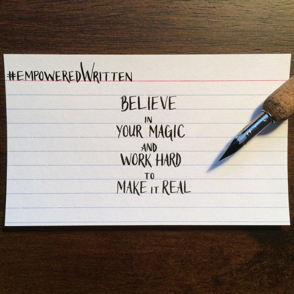 Written Paper Goods - Elizabeth Gilbert empoweredWritten