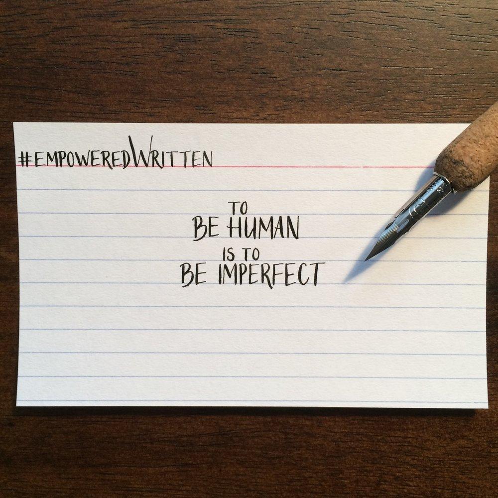Written Paper Goods - Brene Brown empoweredWritten