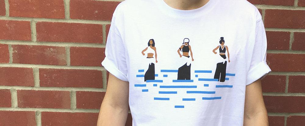 TLC-t-shirt-limited-edition-illustration