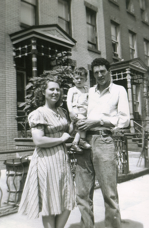 Charles and Edna Dalpiaz with son Butch