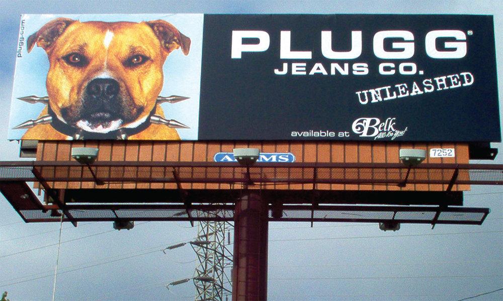 Plugg Jeans Billboard