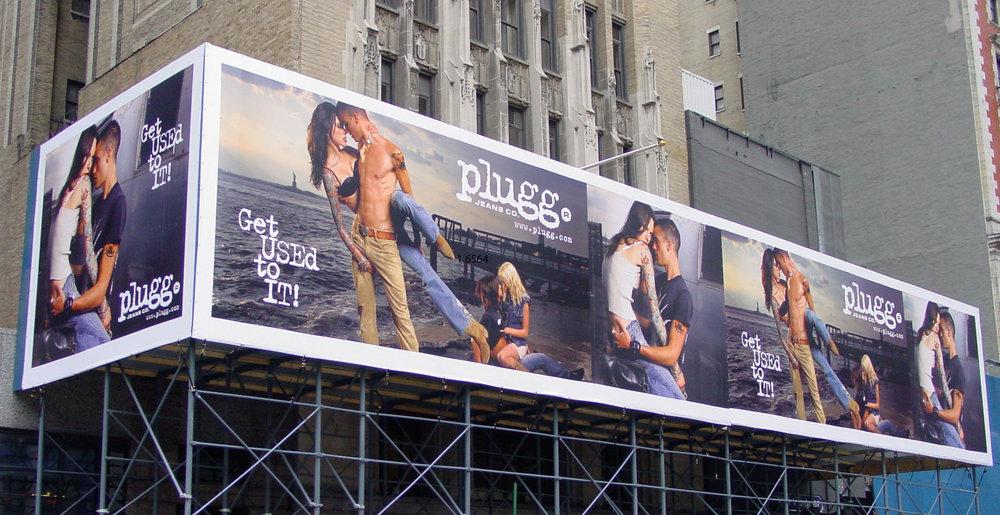 Billboard Scaffolding