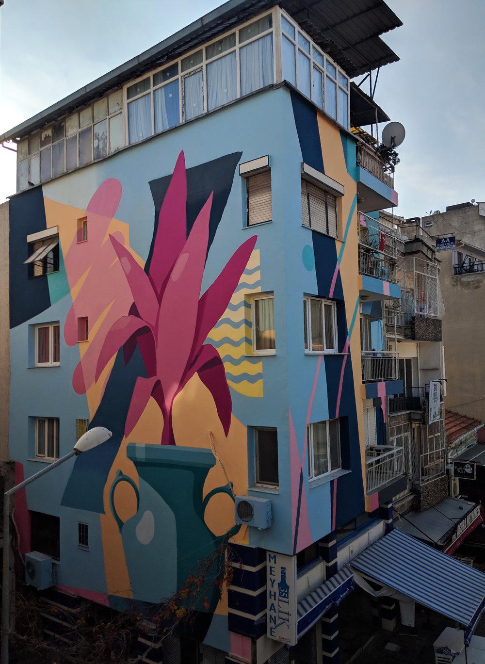 Izmir Mural Festival - Turkey - 2018