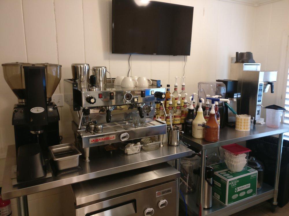 The Coffee Cherry equipment
