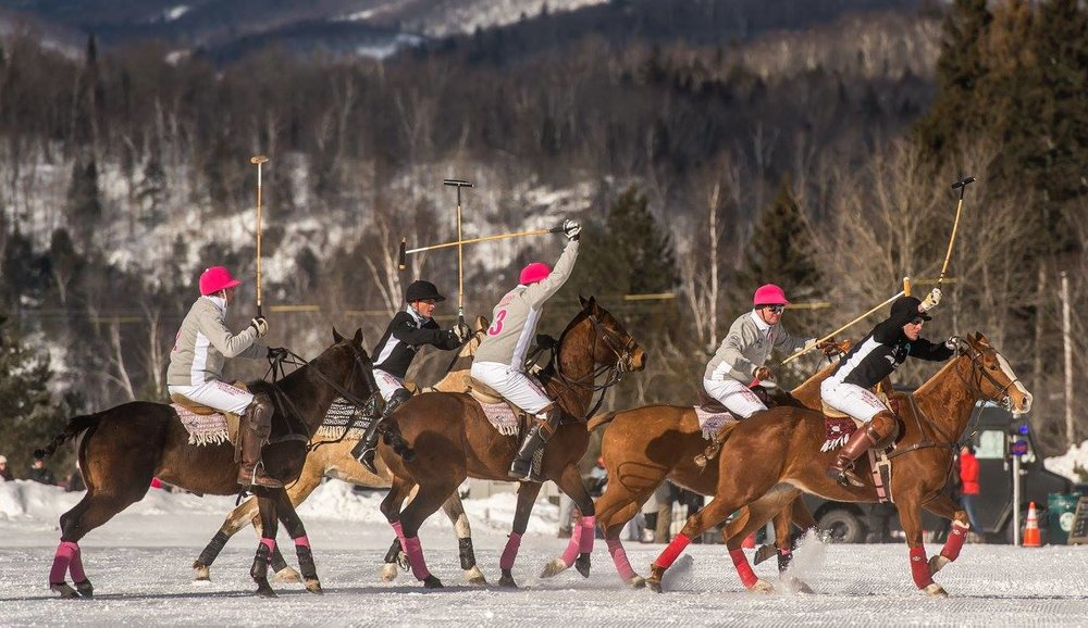 Photo by Snow Polo Tremblant