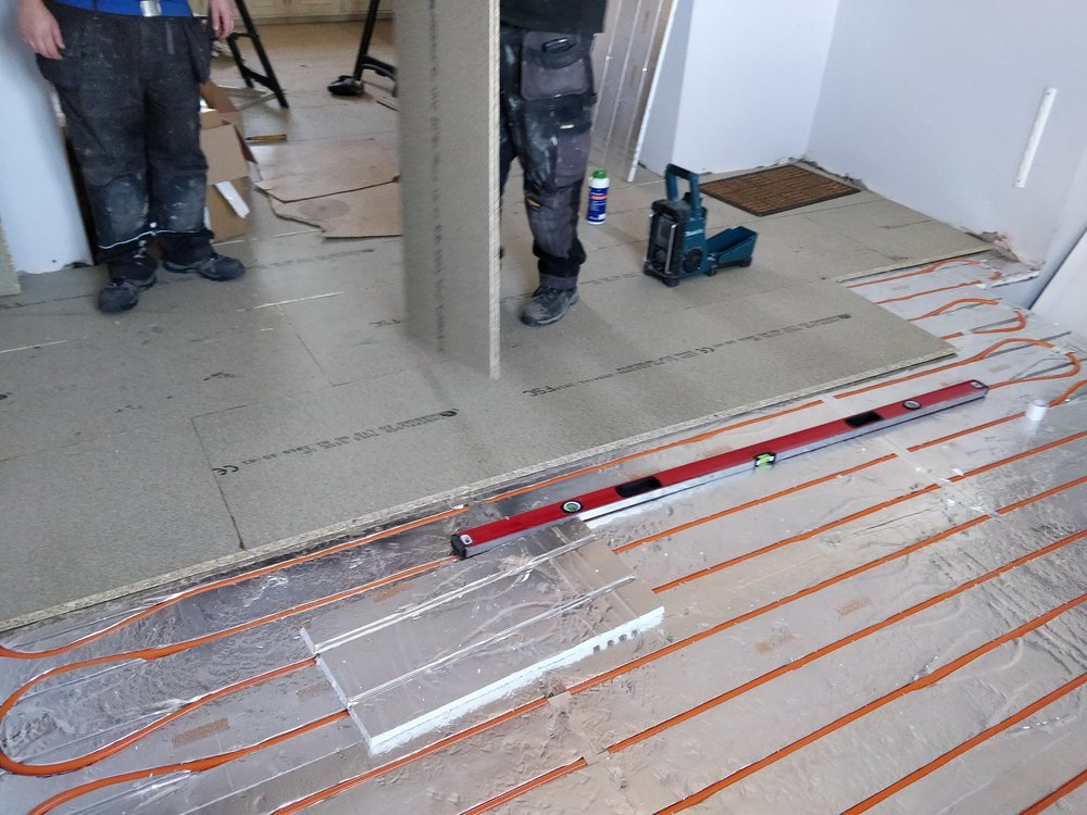 Underfloor Heating -