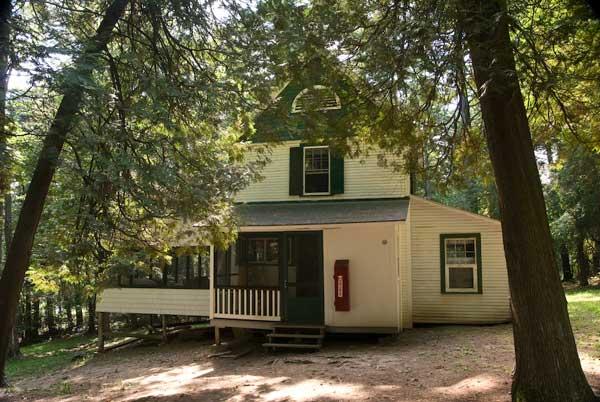 Cedar Cabin, Lake Champlain