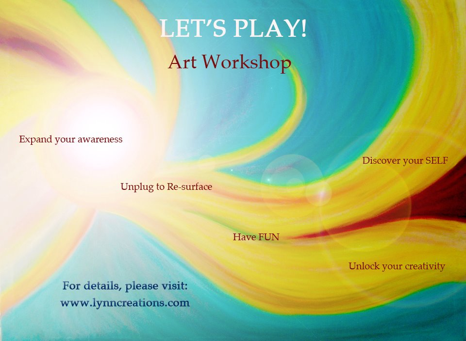 Let's Play Workshop April 29, 2017 1:30pm - 3:30pm EST