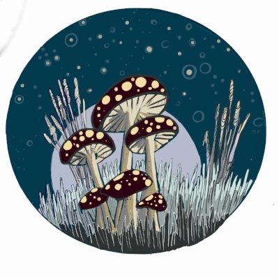 Drawlloween 2018-Mushroom