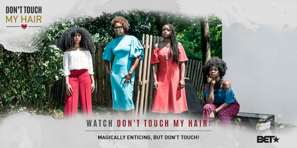 Our hair represents our essence. Watch Brittany on Episode 1 of BET's Don't Touch My Hair as she  discusses the beauty-and importance-of a Black woman's crown.