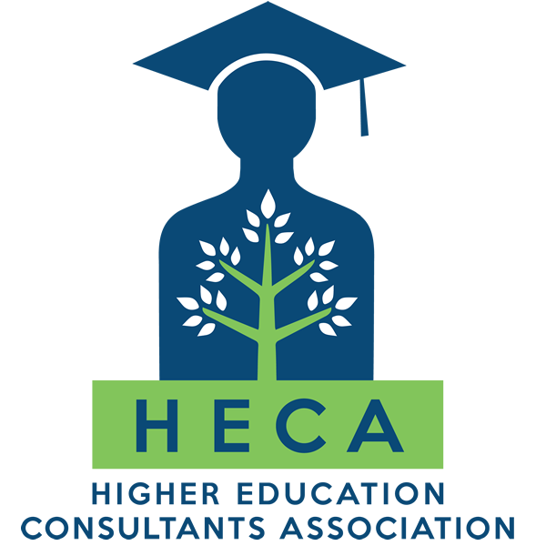 Logo for HECA, the HIGHER EDUCATION CONSULTANTS ASSOCIATION. LINKS TO THE HECA WEBSITE.