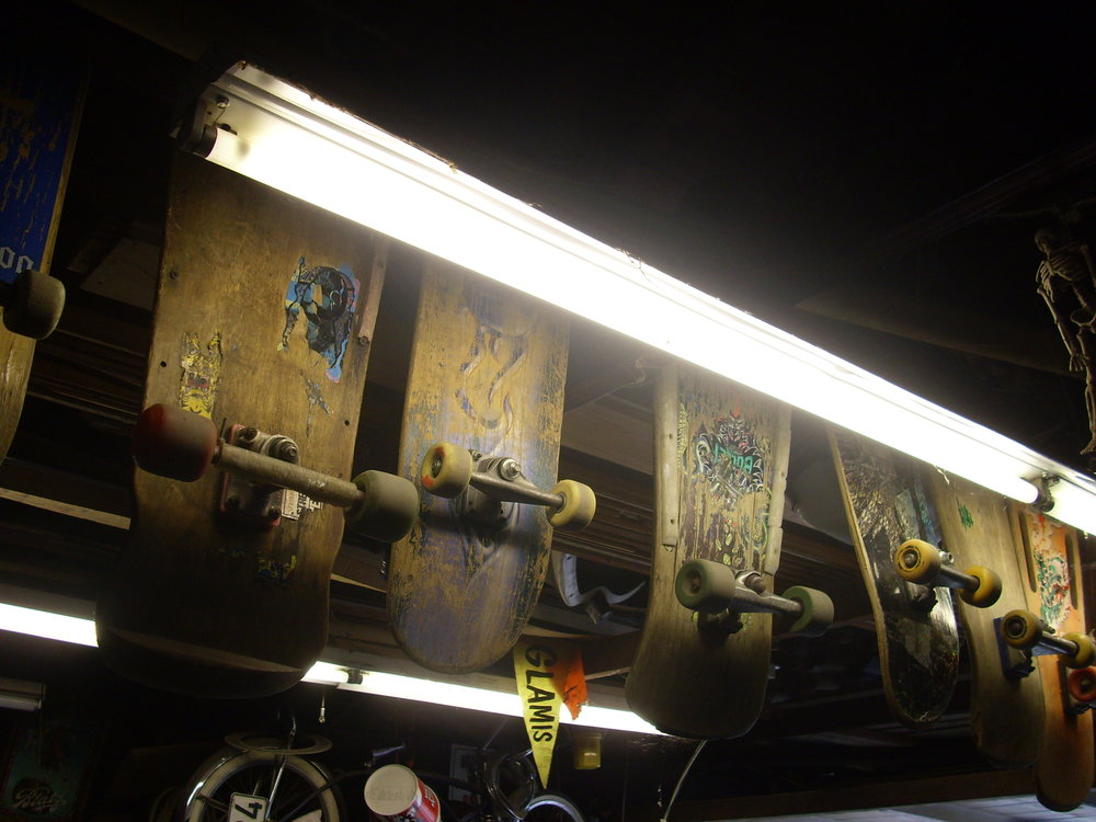 Retired Skateboards