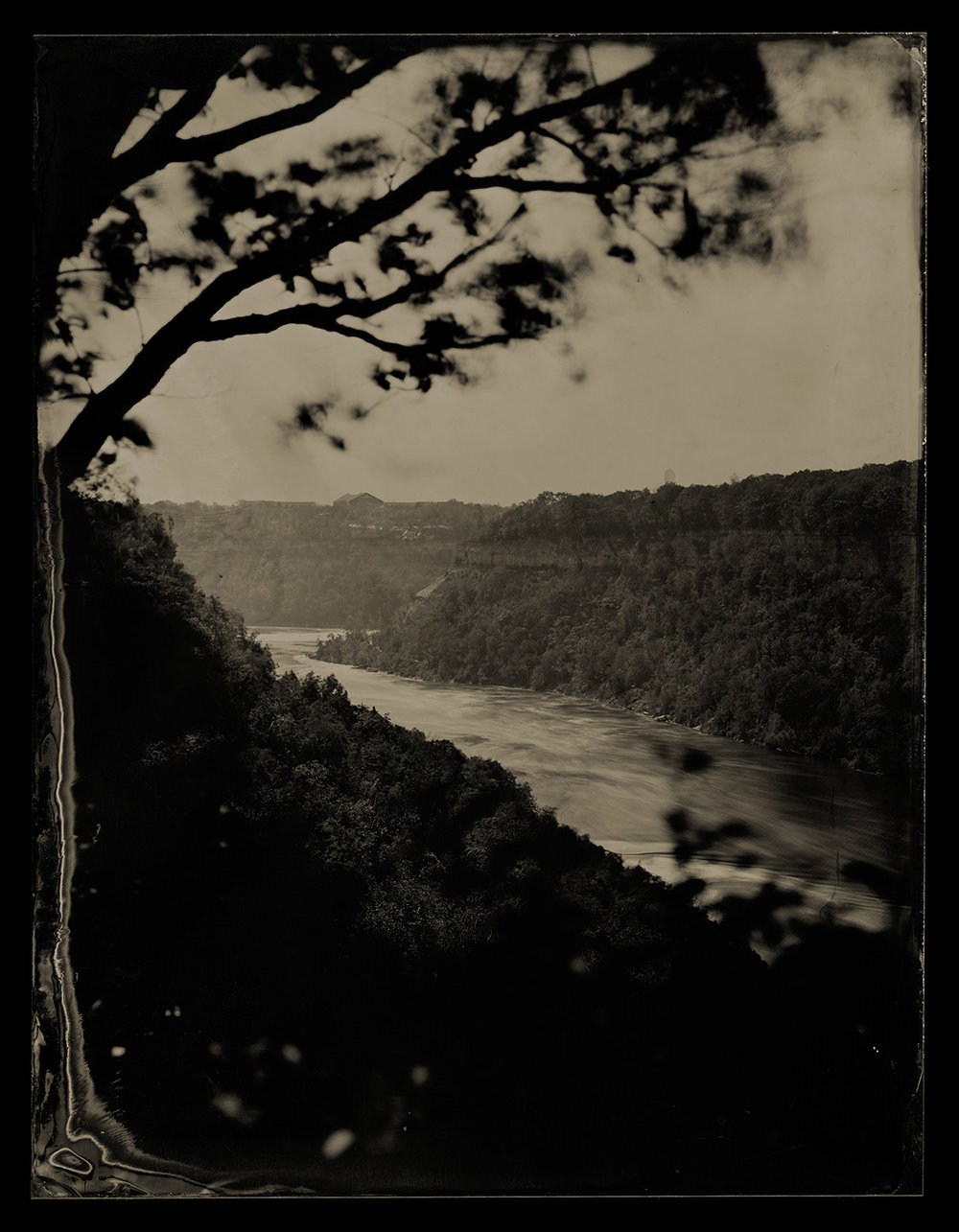 View from atop the Niagara Gorge, 2017
