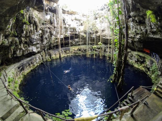 Cenote at Hacienda San Lorenzo Oxman, Valladolid