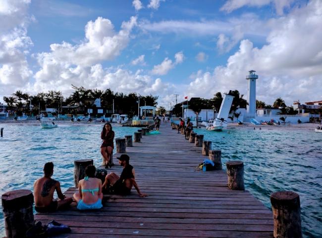 Puerto Morelos Pier