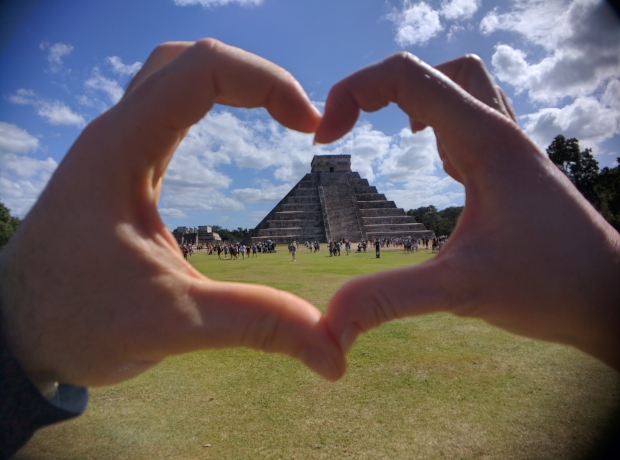 We heart Chichen Itza
