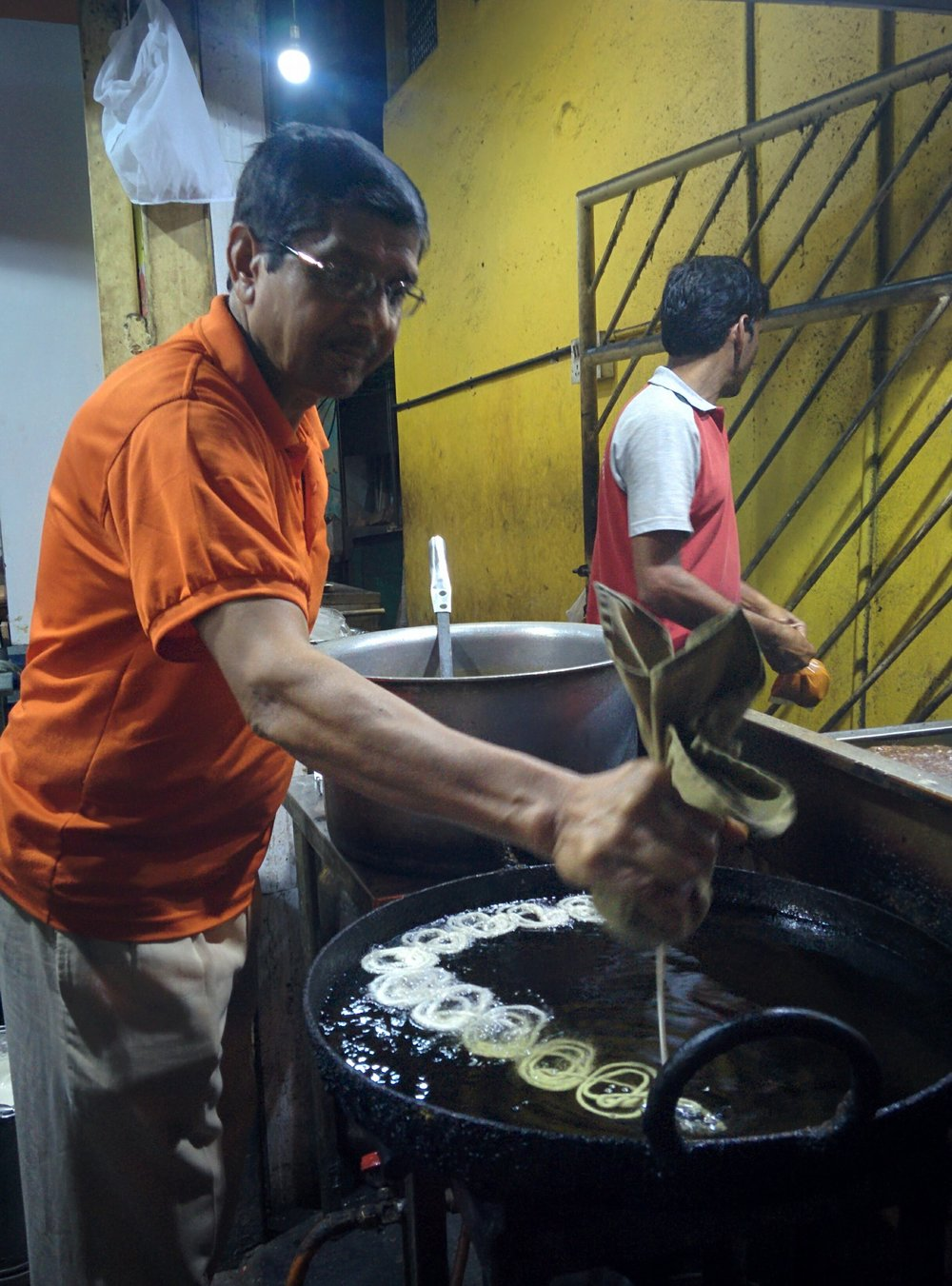 Fresh Jalebi on Food St