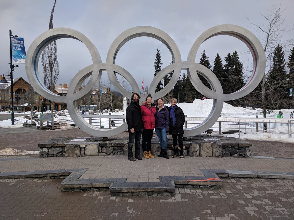 Olympic Rings from 2010 Games.. the quintessential Whistler pic