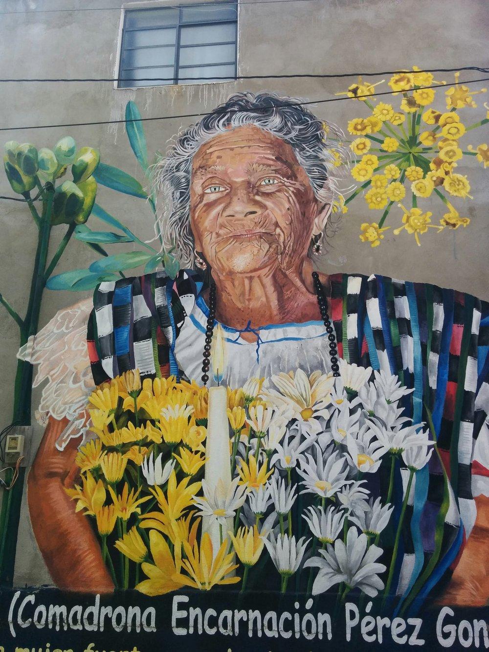 Mural in San Pedro