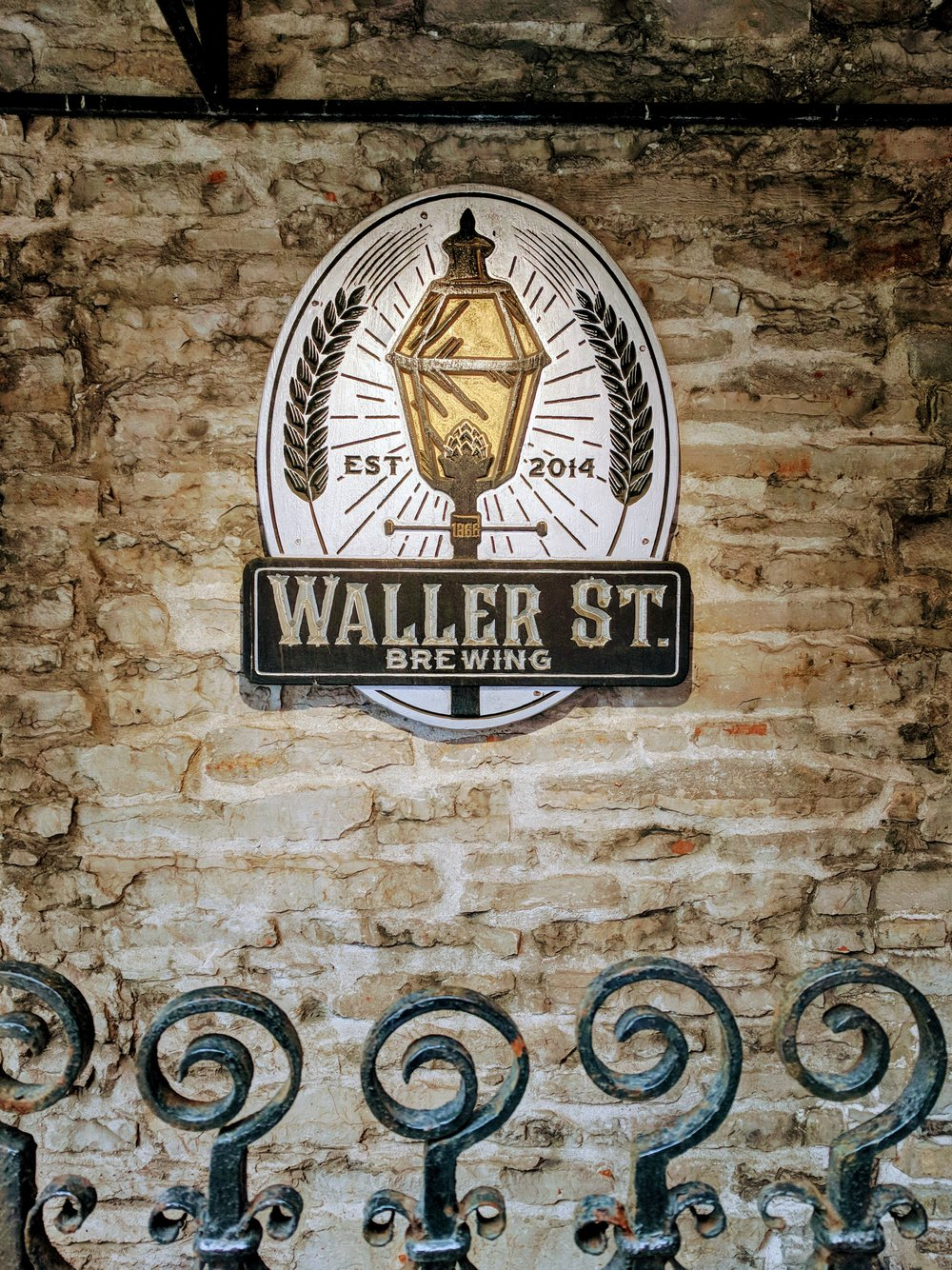 Not so secret entrance to the Waller St Speakeasy