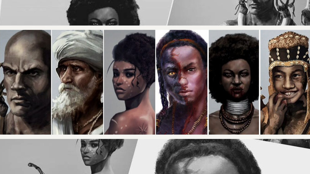 Mani Kongo Lukeni - Images from the upcoming art book: A super-power action drama based on the legend of the enigmatic founder of the Kongo Empire, Nimi a Lukeni.