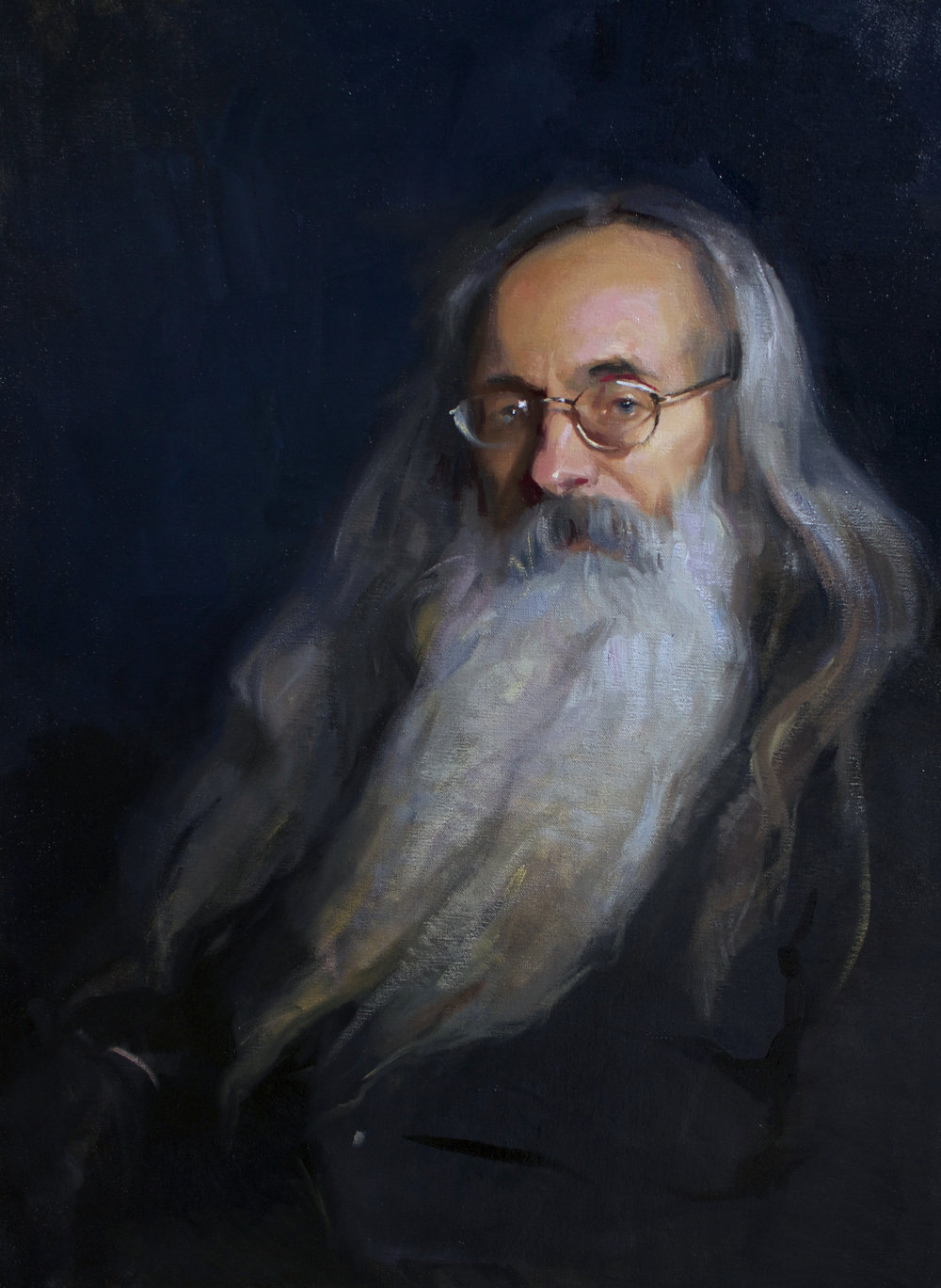 'Carlo' 80 cm by 60 cm Oil on linen