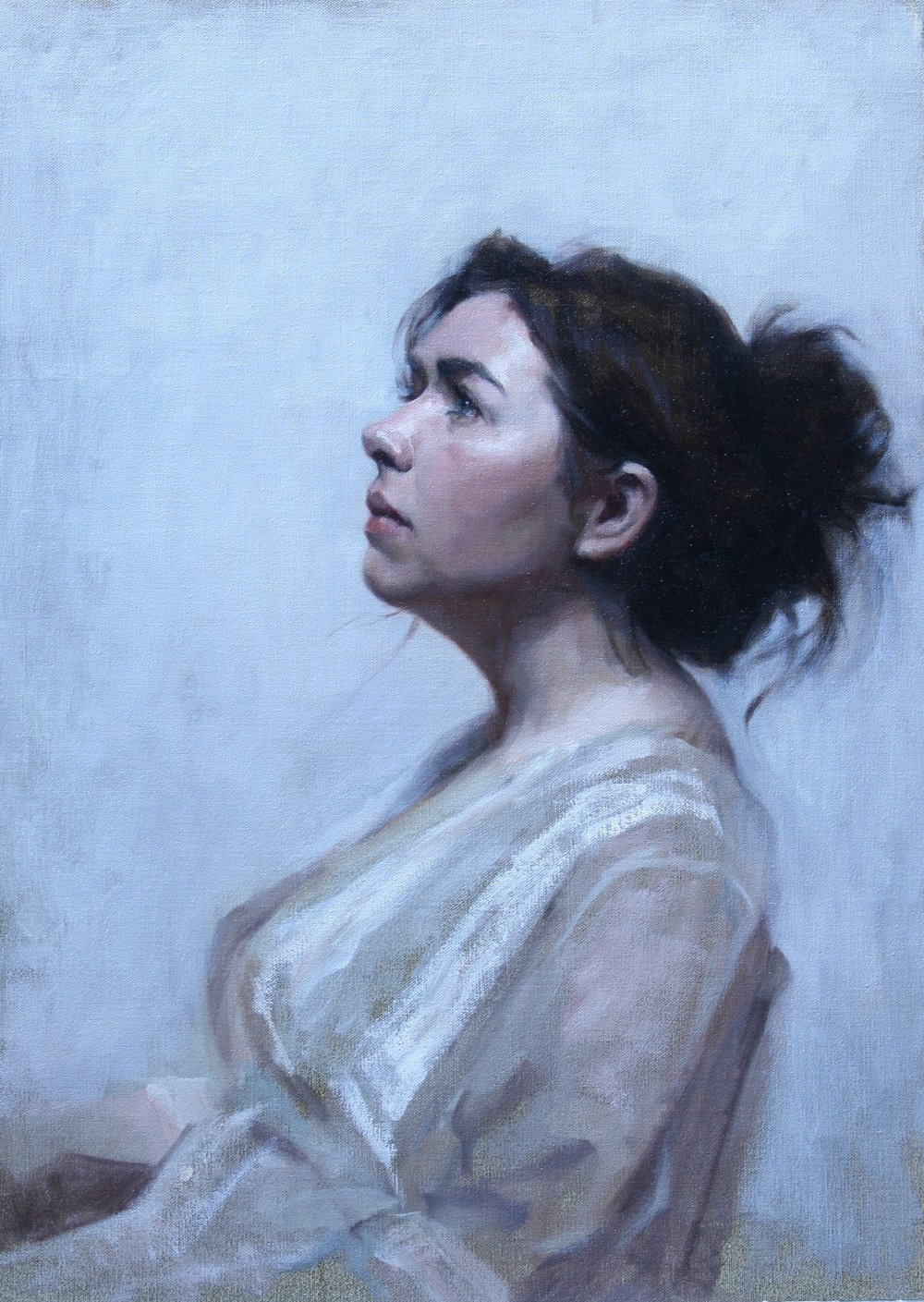 'Stephanie' 60 cm x 50 cm Oil on linen