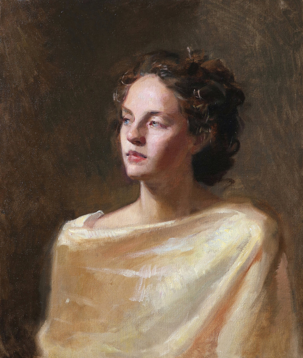 'Ylenia' 65 cm x 55 cm Oil on linen
