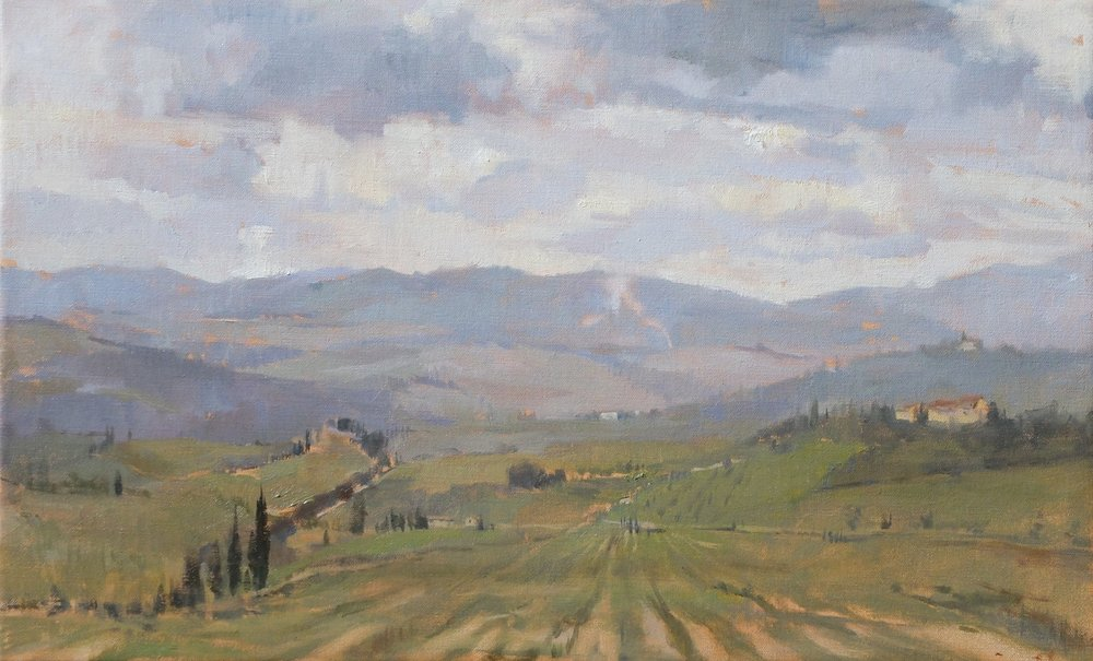 'San Casciano' 45cm x 65 cm Oil on linen
