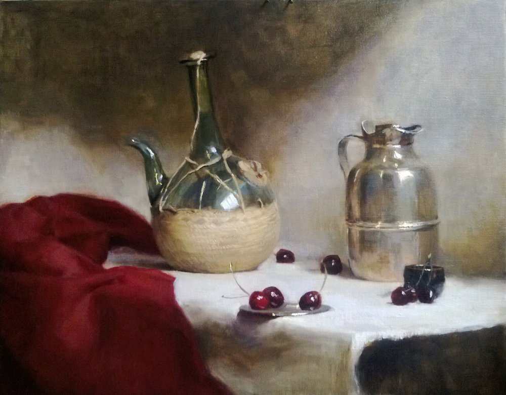 'Indulgence 1' 45 cm x 65 cm Oil on linen
