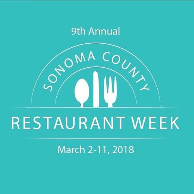 Restaurant Week is kicking off - we are happy to be participating again! 3 courses for $29 - Reservations recommended #scrw #sonomacountyrestaurantweek #portuguese #healdsburg