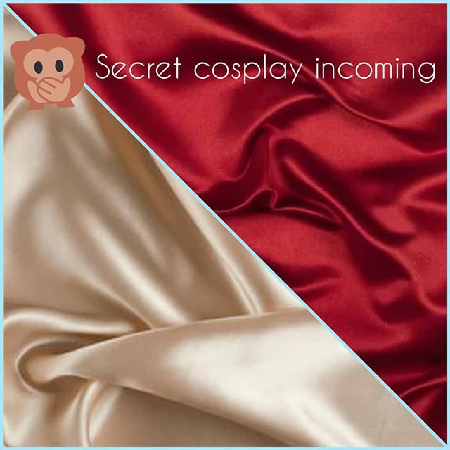 Huehuehue such secrets! This is going to be a biggie. Not sure which con I'll debut at yet but I'm hoping it'll be stage worthy for #animenorth 🤩😚 | #animenorth2019 #fanexpocanada #fanexpo2019 #costumedesigner #cosplayersofinstagram #sewistsofinstagram #costuming #sewing #art #wip #secretcosplay