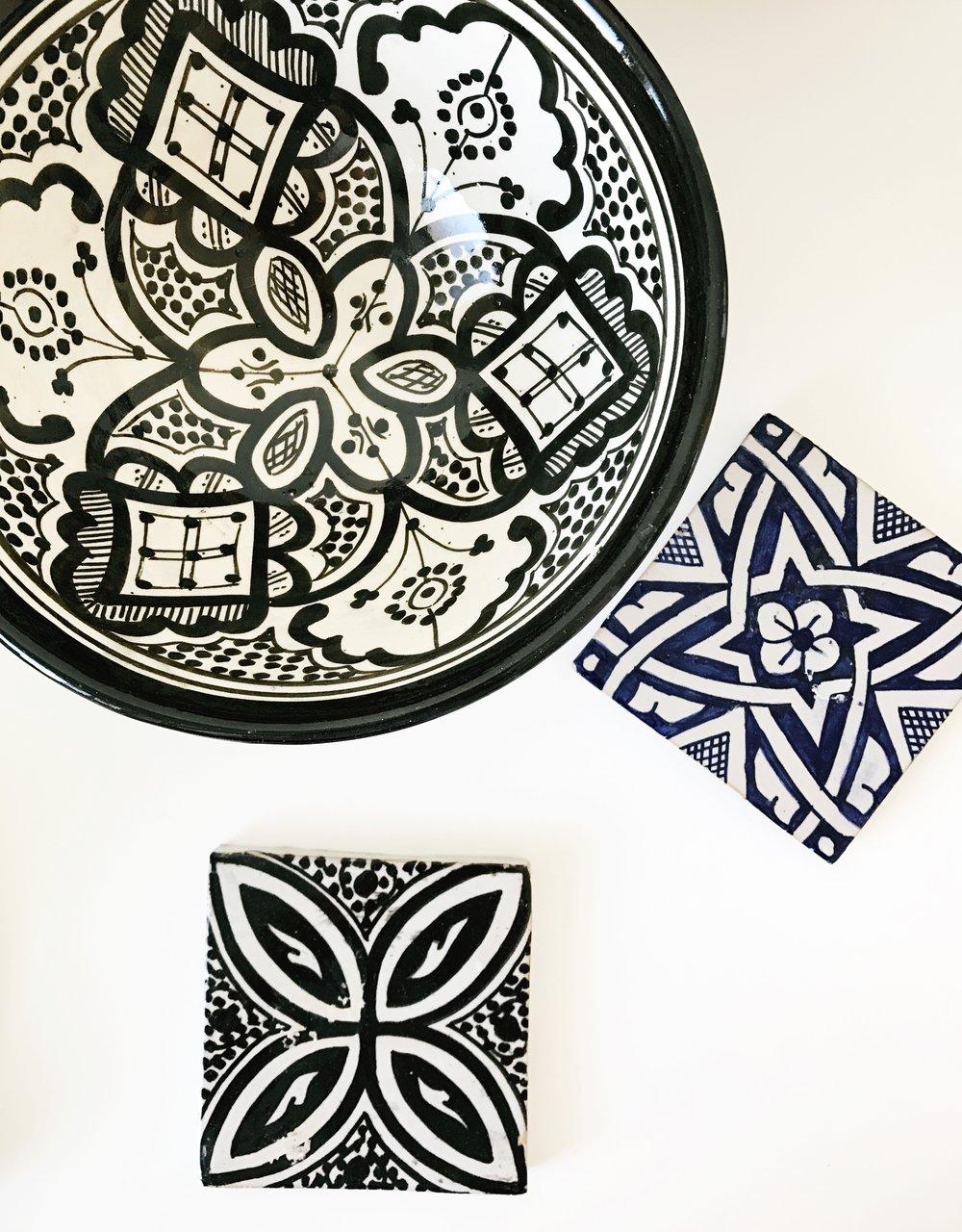 Marokkolaiset astiat